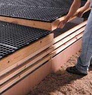 Tama Plastic Poultry House Flooring Slat 4ft x 2ft Pallet Load 54 slats FREE UK DELIVERY